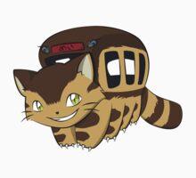 Cat Bus One Piece - Short Sleeve