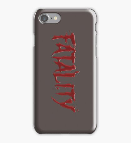 Fatality Part II iPhone Case/Skin