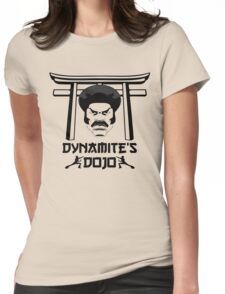 Dy-Nooo-Mite Womens Fitted T-Shirt