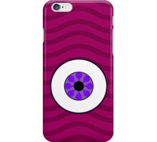 Psychedelic Purple Eye iPhone Case iPhone Case/Skin