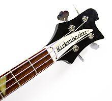 Rickenbacker Bass Music Photo Print by Ariella Carver