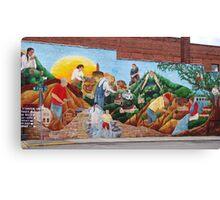 mural Canvas Print