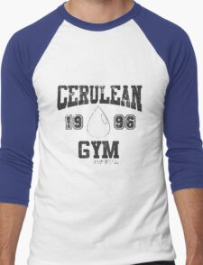 Cerulean Gym T-Shirt Men's Baseball ¾ T-Shirt