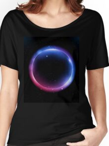 Neon circle Women's Relaxed Fit T-Shirt