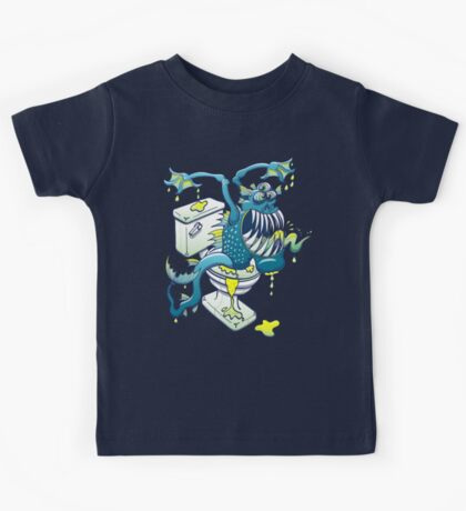 Toilet Monster Kids Tee