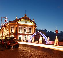Christmas in Ribeira Grande by Gaspar Avila