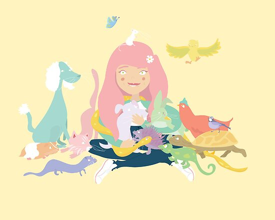 Pastel Pets by littlelemon