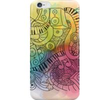 Sheet Music piano  iPhone Case/Skin