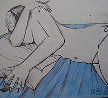 Bed rest by odinel  pierre junior