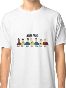 Minimalistic Star Trek Crew Classic T-Shirt