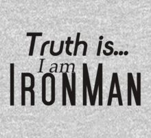 I Am Iron Man t-shirt  by charlieeastwick