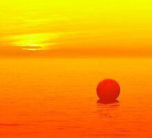 Red Bubble by timpr
