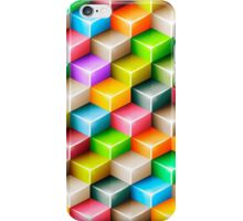 Colorful polygons iPhone Case/Skin
