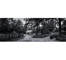 Colonial Virginia Farmstead Photographic Print