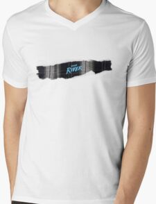 The River Mens V-Neck T-Shirt