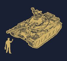 Tank Man Kids Clothes