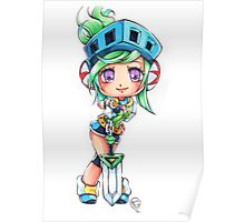 Chibi Arcade Riven Poster
