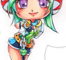 Chibi Arcade Riven Sticker