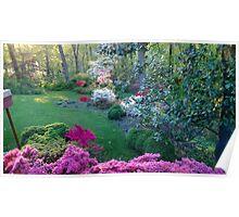 Linda's garden Poster