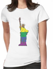 New York Liberty Pride Womens Fitted T-Shirt