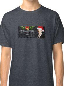 Sherlock Christmas Classic T-Shirt