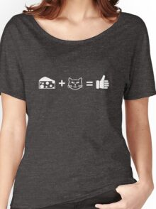 Cheese and Cats Women's Relaxed Fit T-Shirt