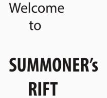 Welcome to Summoner's Rift One Piece - Long Sleeve