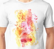 Paris Eiffel  Unisex T-Shirt