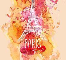 Paris Eiffel  by MrNicekat
