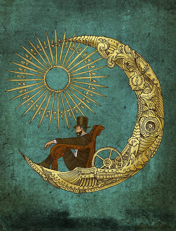Moon Travel by Eric Fan
