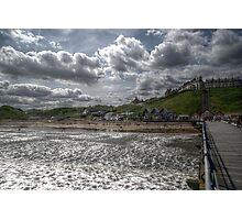 Pier View Of Saltburn Photographic Print