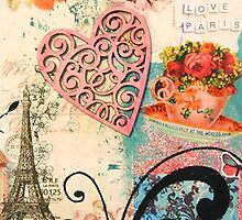 Pink Paris by Janine Whitling