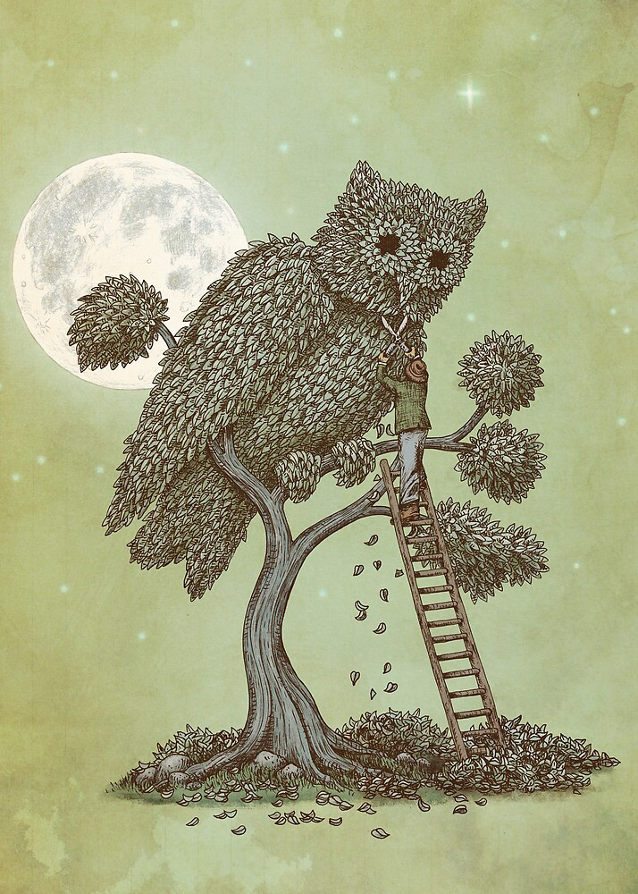 The Night Gardener by Eric Fan
