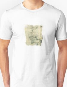 For the ones who had a notion T-Shirt