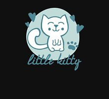 Little Kitty Womens Fitted T-Shirt