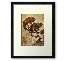 Autumn Chameleons Framed Print