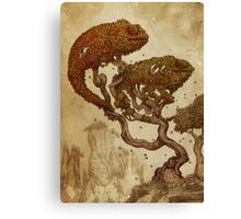Autumn Chameleons Canvas Print