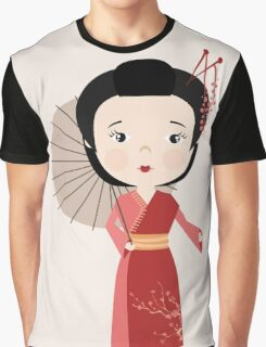 Chinese woman Graphic T-Shirt