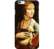 Lady with an Ermine iPhone Case/Skin