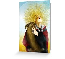 HARVEST CRONE CARD Greeting Card