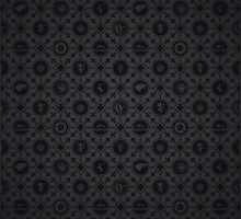 Game of Thrones Repeating Pattern by liquidsouldes