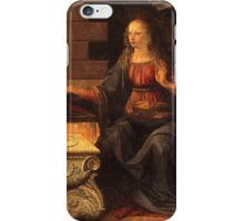 Mother Mary Annunciation iPhone Case/Skin