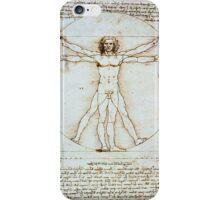 Vetruvian Man iPhone Case/Skin