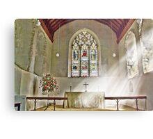 St Nicholas Offham Chancel Metal Print