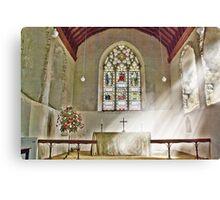 St Nicholas Offham Chancel Canvas Print