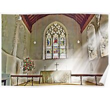 St Nicholas Offham Chancel Poster