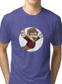 hipster plumber Tri-blend T-Shirt
