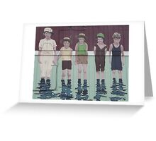 Happy Summer - A Great Way to Cool Off Greeting Card