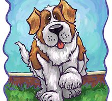 Animal Parade St. Bernard by Traci VanWagoner