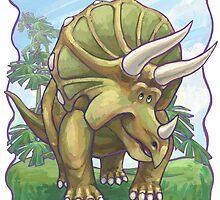 Animal Parade Triceratops by Traci VanWagoner
